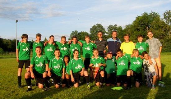 Meistermannschaft SG Neukirch-Tannau 2014