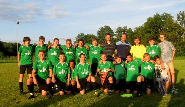 C-Jugend Meistermannschaft Saison 2013/2014