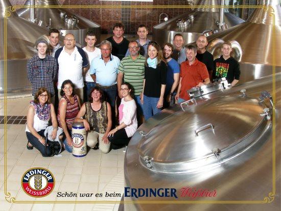 Erdinger-Brauereiführung 2015